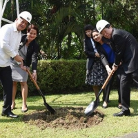 SEAMEO Council President leads Southeast Asian AgriMuseum groundbreaking, commends SEARCA for work in ARD